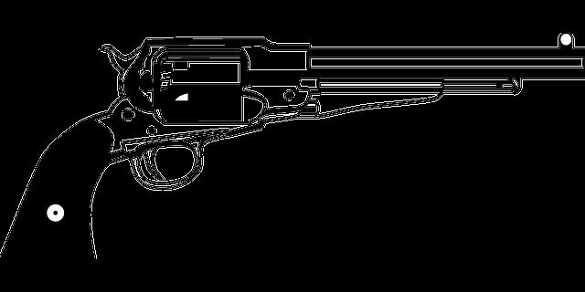 Revolver Remington Pistol Wild · Free vector graphic on ...