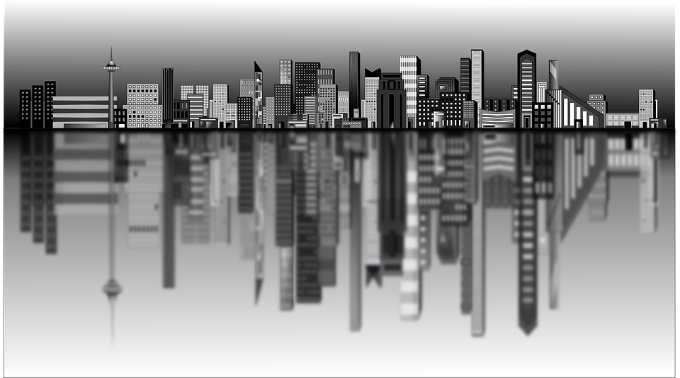 City Skyline Buildings 183 Free Vector Graphic On Pixabay