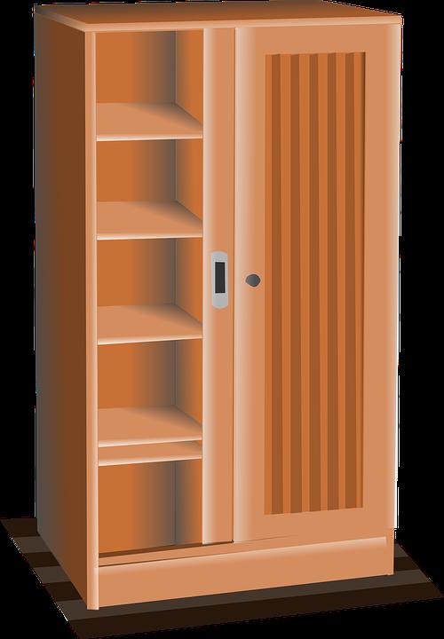 Armario Muebles Madera · Gráficos vectoriales gratis en Pixabay