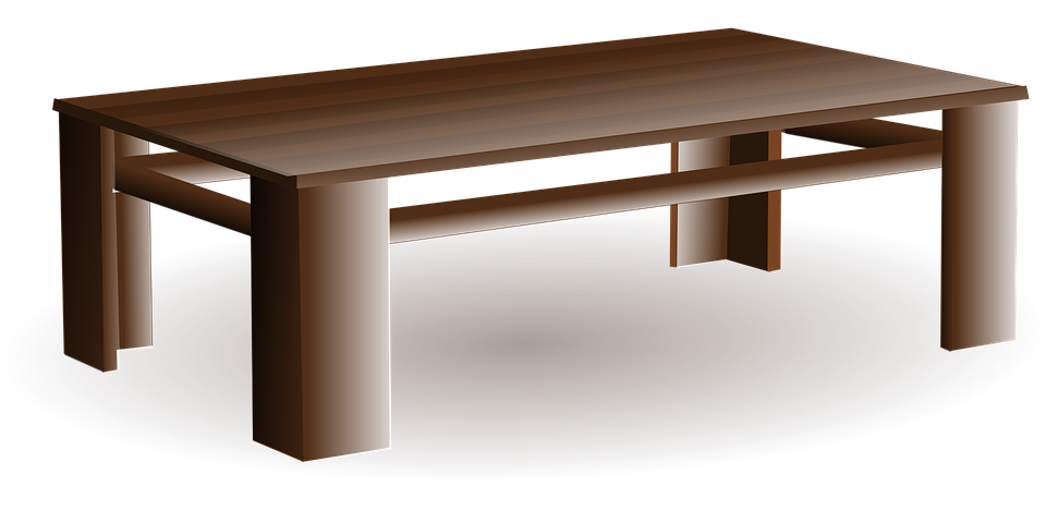 Free Vector Graphic Table Wood Furniture Home Free