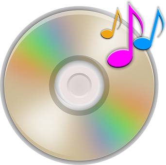 Cd Music Audio Notes Mp3 Sound Music