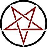 pentagram, star, symbol