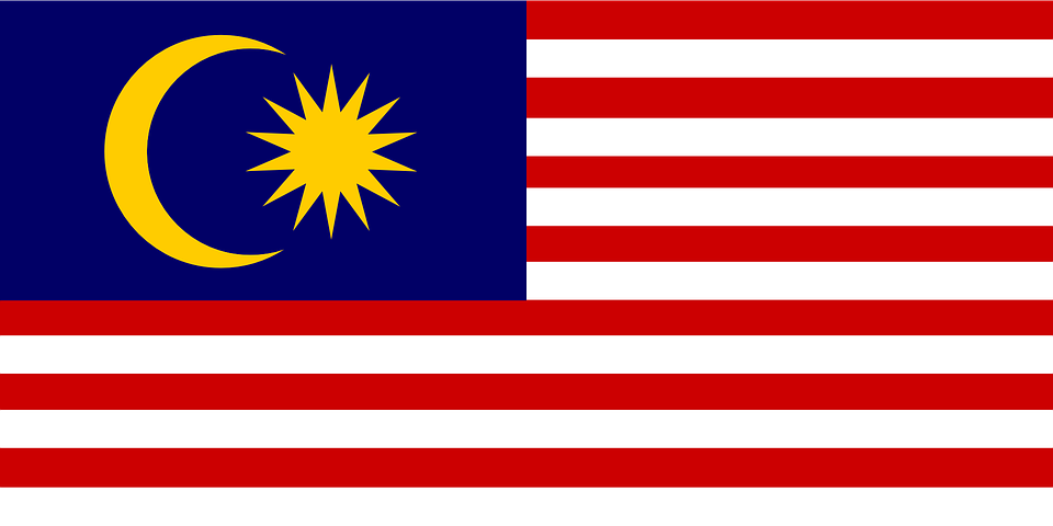 Malaysia, Flag, Nation, Country