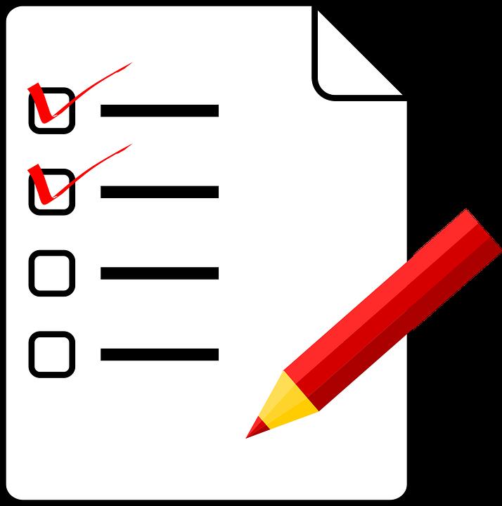 Anket, Sorular, Kağıt, Kalem, Red, Levha
