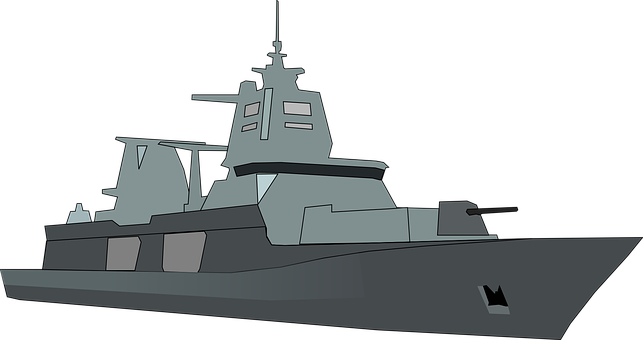 Navire, Bateau, Marine, Frégate, Canon