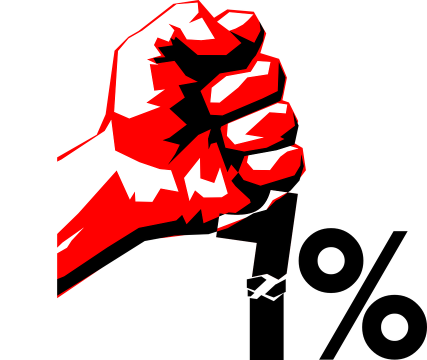 Free Vector Graphic Occupy Revolution Hand Fist Red