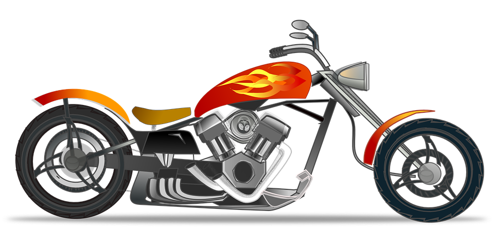 Chopper Automotive Bike 183 Free Vector Graphic On Pixabay