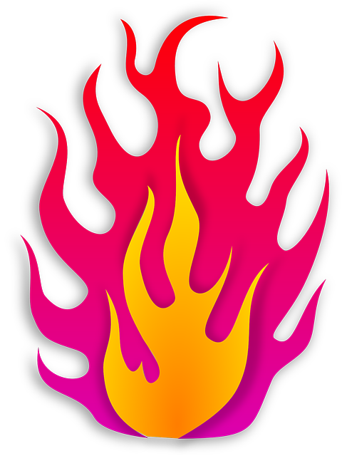 free vector graphic flame  flammable  hot  fire free free commercial use vector line icons thick free commercial use vector files