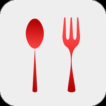 Sendok Garpu Gambar Vektor Pixabay Unduh Gambar Gratis