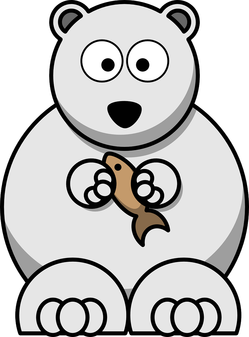 Bear Polar Arctic - Free vector graphic on Pixabay