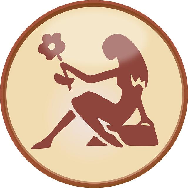 vierge signes du zodiaque signe  u00b7 images vectorielles gratuites sur pixabay