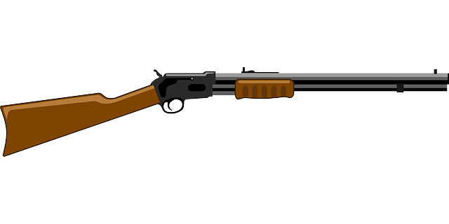 Gun Rifle Shooting 183 Free Vector Graphic On Pixabay