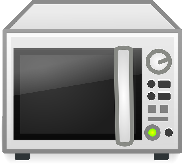 Free Vector Graphic Microwave Oven Wireless Cooking