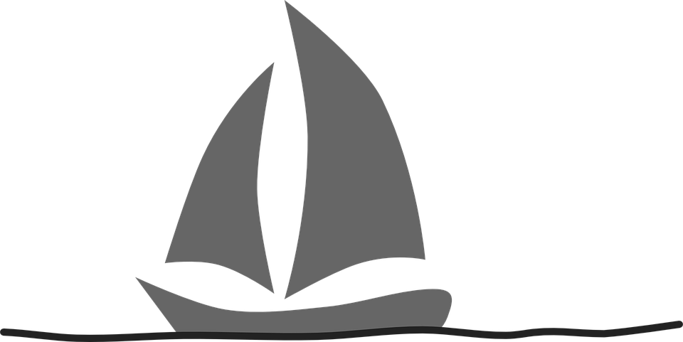 Segelboot zeichnung schwarz  Segelboot - Kostenlose Vektorgrafiken auf Pixabay
