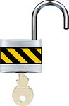 open, padlock, lock