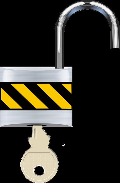 Free Vector Graphic Open Padlock Lock Security Free