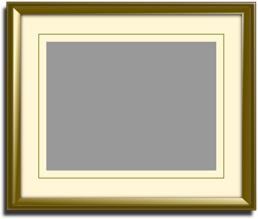 Picture Frame Free Vector Graphic On Pixabay