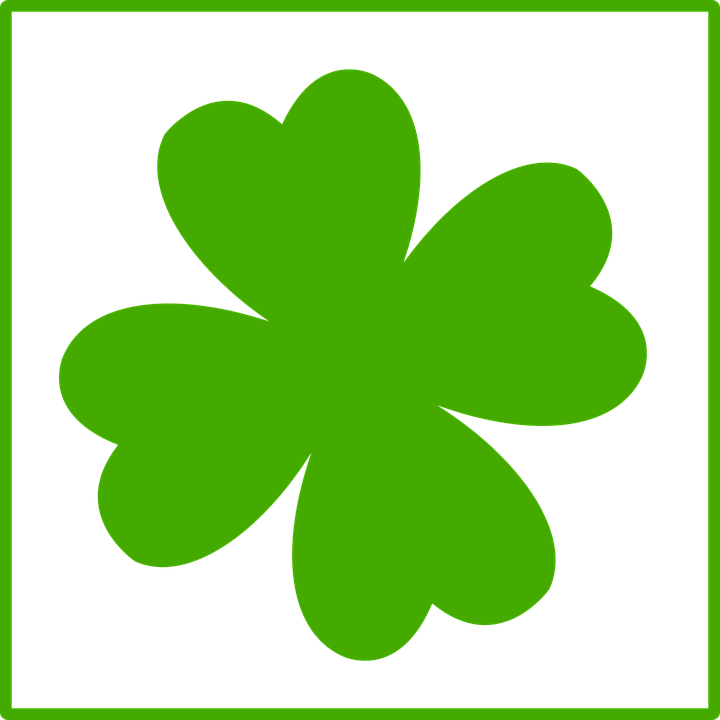 Four Leaf Clover Luck Free Vector Graphic On Pixabay