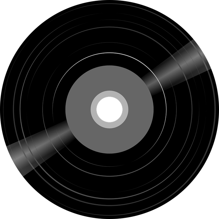 record disk music free vector graphic on pixabay