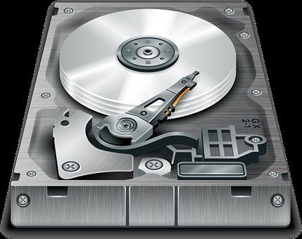 Hard, Disk, Storage, Computer