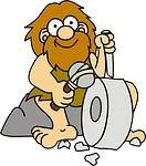 caveman, primeval, primitive