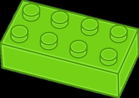 Brick, Building Block, Plastic, Toy