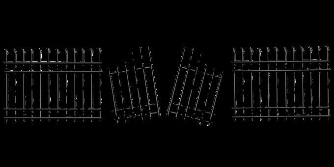 Fence, Open, Barricade, Door, Entrance