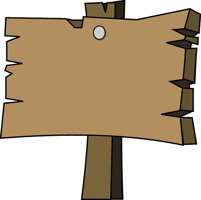 Signal Wood Plain · Free vector graphic on Pixabay