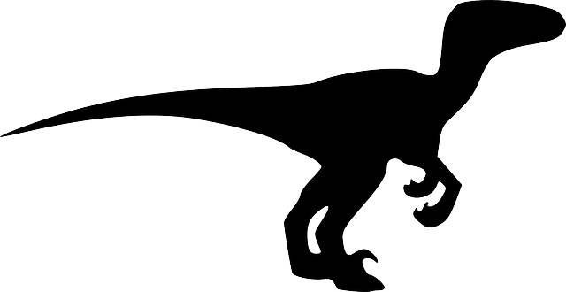 Dinosaur Animal Black · Free vector graphic on Pixabay
