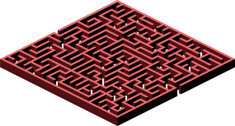 free vector graphic labyrinth  maze  wall free image on run clipart coloring run clipart pictures