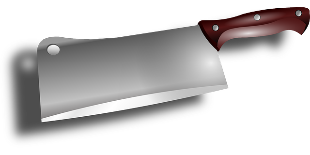Free Vector Graphic Cleaver Cut Kitchen Cooking Free