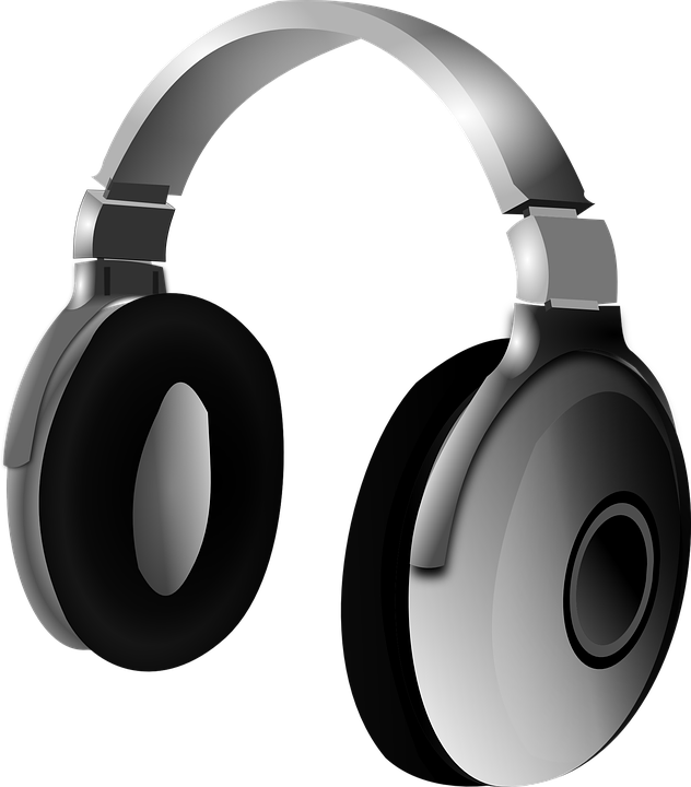 Headphone Headset Music 183 Free Vector Graphic On Pixabay