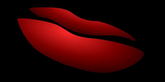 Lèvres, La Bouche, Red, L'Amour, Chaud