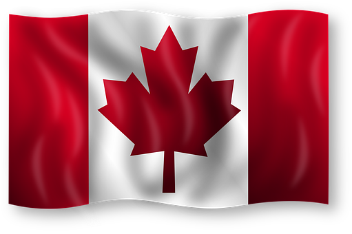 Canada Flag Canadian Country Emblem Leaf M