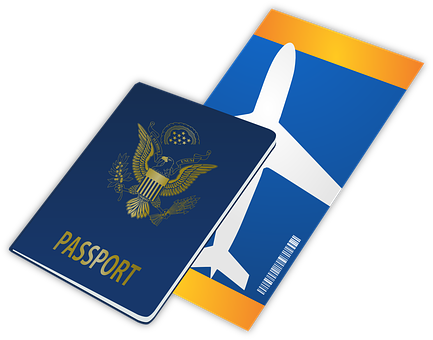 Passport Ticket Travel Entry Flight Travel