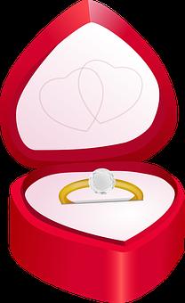 Золотое кольцо с бриллиантом 0.40 карат
