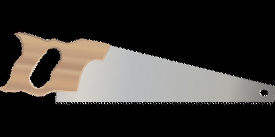Sierra herramienta mano gr ficos vectoriales gratis en - Sierra de mano para madera ...