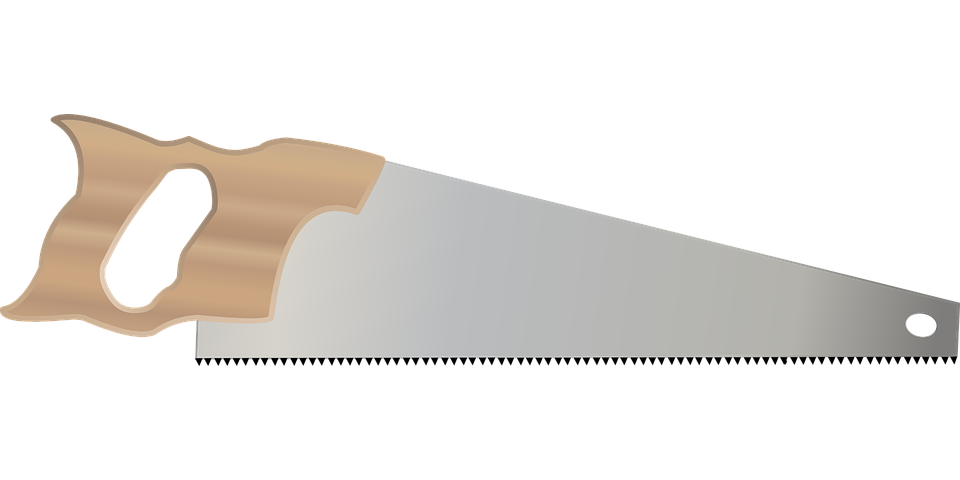 Brandneu Kostenlose Vektorgrafik: Handsäge, Werkzeug, Hand, Sah, Holz  XV93