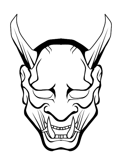 Devil Demon Hell · Free vector graphic on Pixabay Scary Halloween Clown Masks