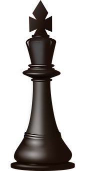 Chess, King, Figure, Game, Black