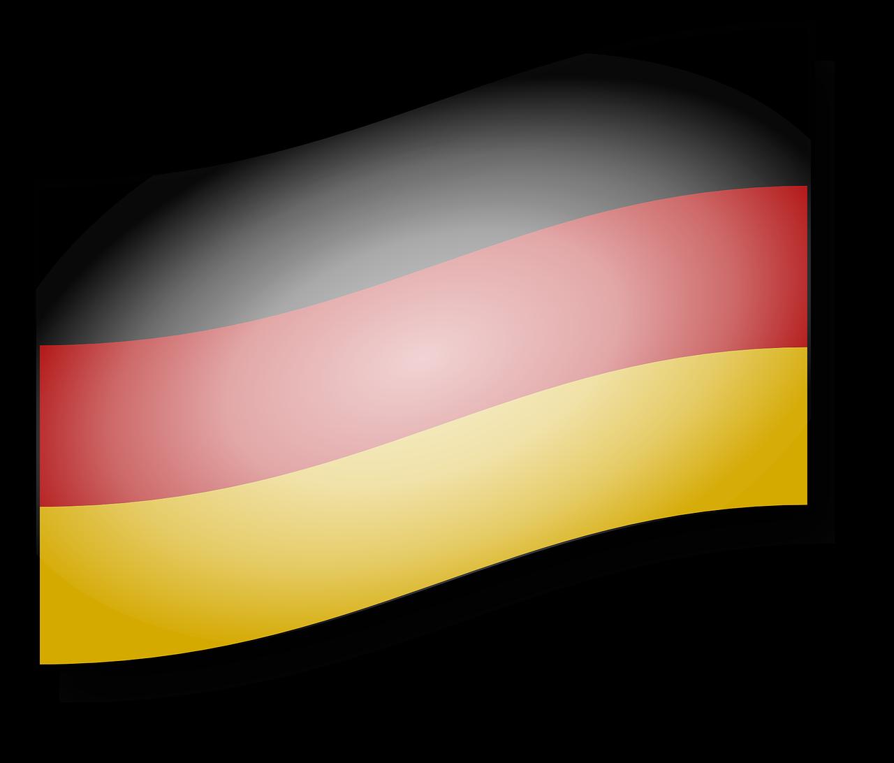 Флаг германии рисунок, картинках