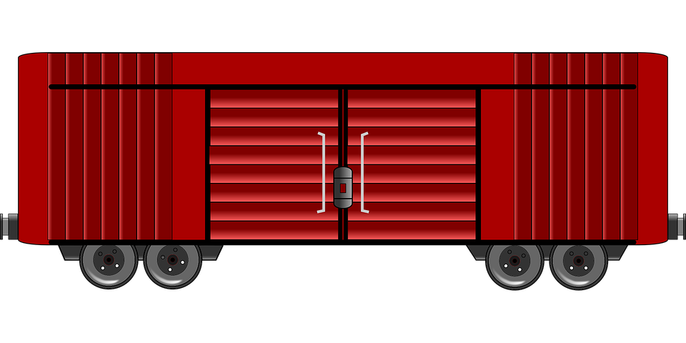 Boxcar Car Goods 183 Free Vector Graphic On Pixabay