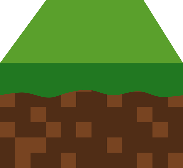 Free Vector Graphic Block Grass Earth Land Free
