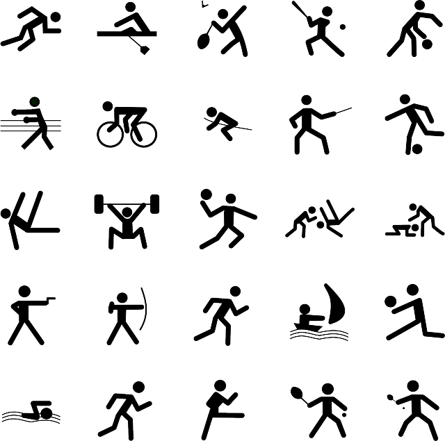 pictogrammes sports symboles  u00b7 images vectorielles