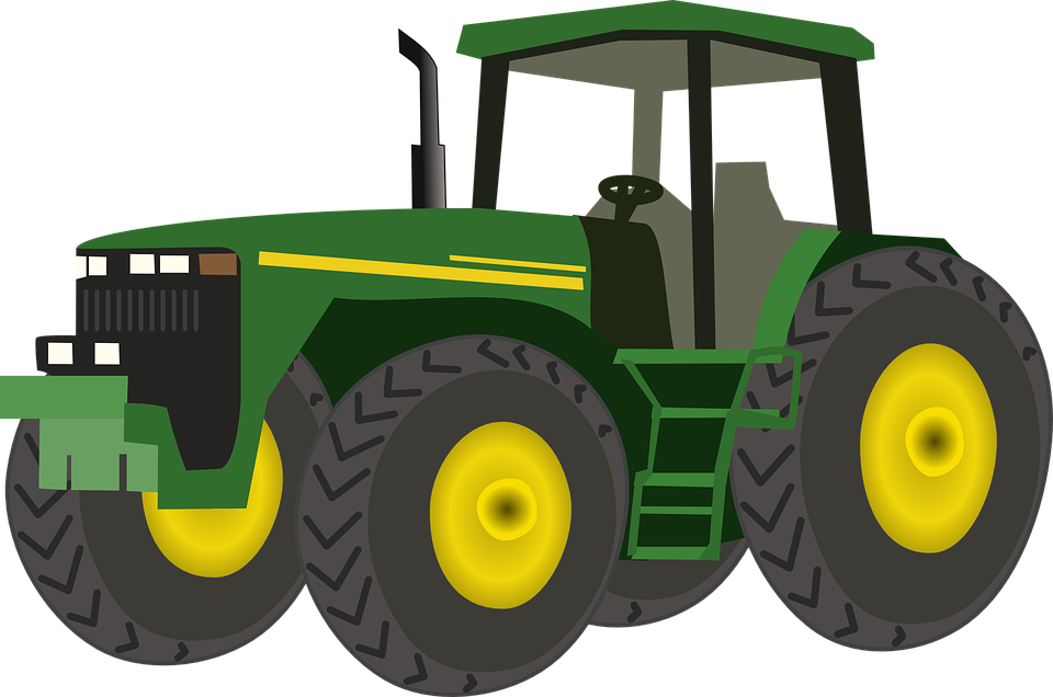 Free vector graphic tractor agriculture farm farming free image on pixabay 159802 - Image tracteur ...