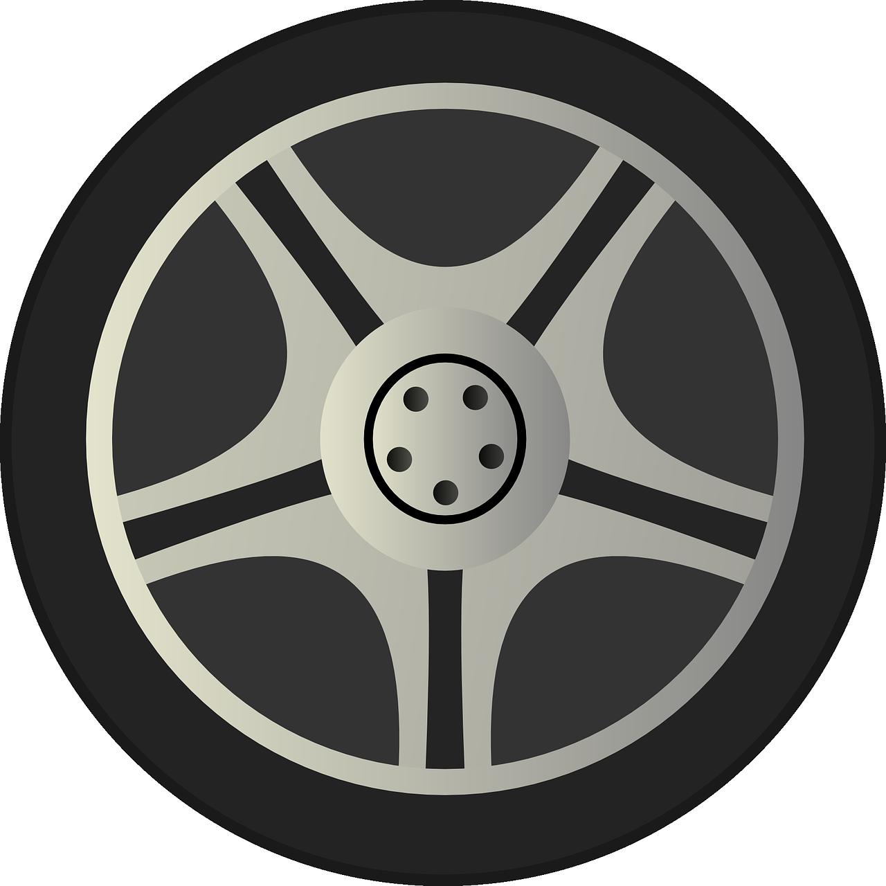 Mobil Rim Ban Gambar Vektor Gratis Di Pixabay