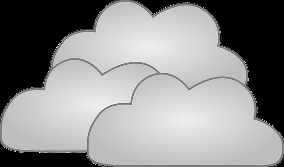 Awan Hujan Gambar Vektor Gratis Pixabay Cuaca Kartun