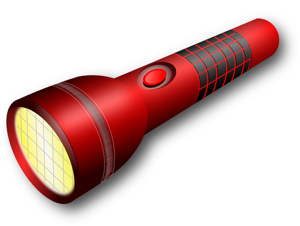 Free Vector Graphic Light Torch Lamp Electric