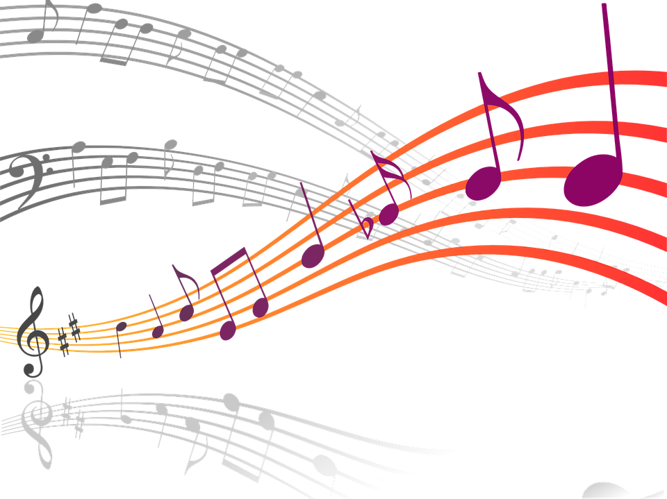 Free vector graphic: Music, Notes, Clef, Sound - Free ...  Free vector gra...