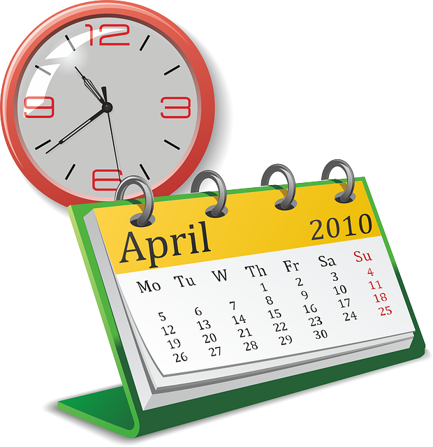 Calendar Date Clipart : Free vector graphic clock watch date analog